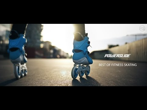 Best of FITNESS Skating - POWERSLIDE Inline Skates - Compilation 2016 - WE LOVE TO SKATE