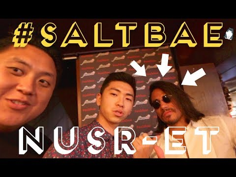 We Meet SALT BAE: NUSR-ET Tanışıp Biftek Denedik!