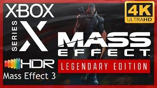 [4K/HDR] Mass Effect Legendary Edition (Mass Effect 3) / Xbox Series X Gameplay
