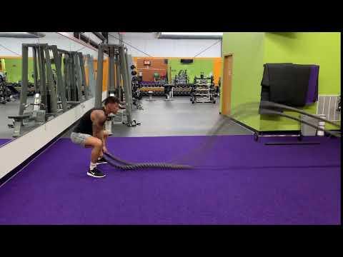 Battle Rope Jumping Slams
