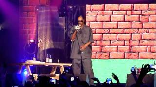 Snoop Dogg  Live / Gz Up Hoes Down / Zénith 2011