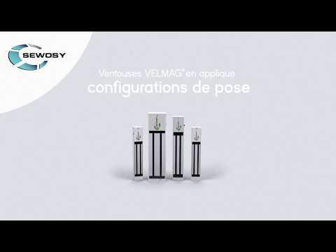0:26 / 2:10 Comment installer les ventouses en applique VELMAG avec leurs accessoires de pose - SEWOSY
