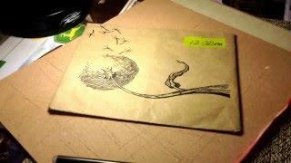 Quick Illustration, Dandelion Tattoo Design