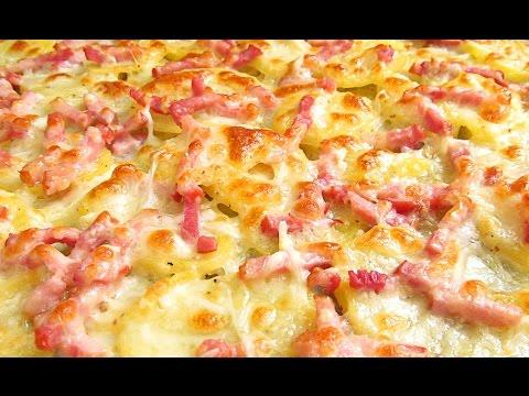 Patatas | Papas al Horno con Queso y Bacon