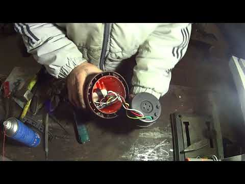 Ремонт дренажного насоса, очень подробно. Repair the drain pump in great detail.