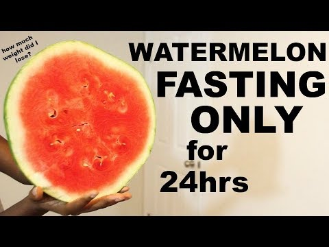 What eating WATERMELON ONLY for 1 DAY did to my BODY