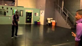 Aaron Fresh Rips The Dance Floor