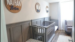 Nursery Decor Reveal | 3 Babies In One Room |