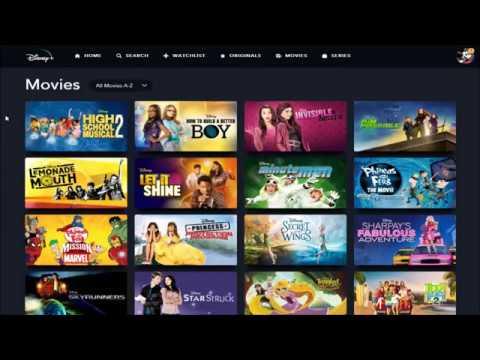 Disney+ Content - All Disney Plus Movies & Shows List - All Disney+ Shows & Movies at Launch