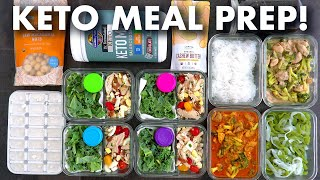 Keto Meal Prep for the Week | Healthy Meal Prep for Keto Diet