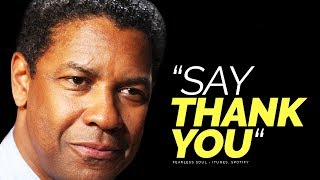 """Say """"Thank You"""" - A Motivational Video On The Importance Of Gratitude"""