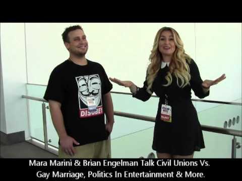 Mara Marini Discusses Gay Marriage Vs. Civil Unions W/ Brian Engelman At Politicon