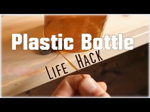 Upcycle A Plastic Bottle Into Some Durable String