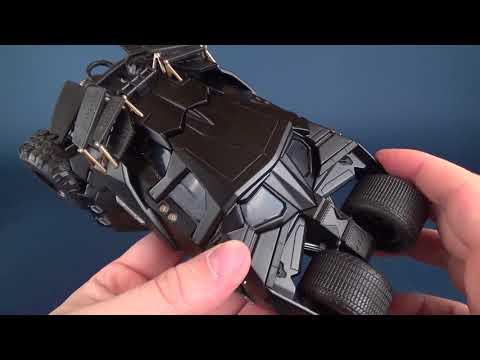 Collectible Spot | Jada Toys Metals Die Cast Tumbler Batmobile with Batman
