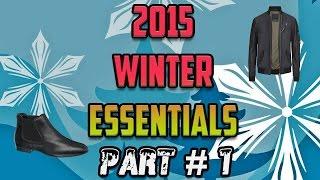 Mens Winter Essentials 2015 (Part #1) - Outerwear