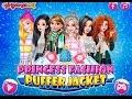 Princesses Fashion Puffer Jacket #KidSvetik