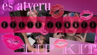 Es Atveru Kylie Jenner Lip Kit ❀  July Flower
