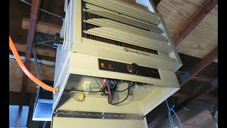 How to Install an Electric Garage Heater:  Comfort Zone Model CZ220