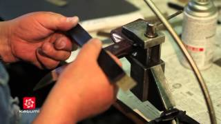 Судзуки Хироси и Судзуки Ёсиро: изготовление авторского ножа