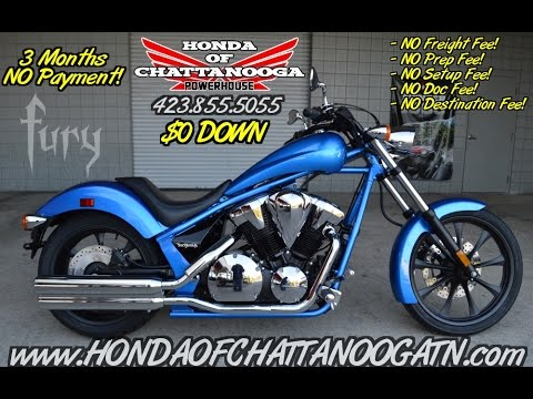 2016 Honda Fury 1300 Review of Specs – Chopper / Cruiser Motorcycle SALE @ Honda of Chattanooga
