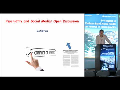 A. Oikonomou - Psychiatry and social media: Open discussion