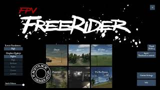 FREE|RIDER FPV , Trying to fly properly ???? ,By Techie Rajesh Ommi