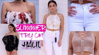 SUMMER FASHION NOVA Try On Clothing HAUL | Blissfulbrii