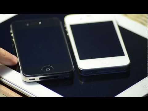 Beyaz iPhone 4S, Siyah iPhone 4'ten daha kalın mı?