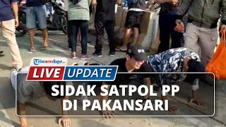 LIVE UPDATE: Sidak Protokol Kesehatan oleh Satpol PP Kabupaten Bogor di Area Stadion Pakansari