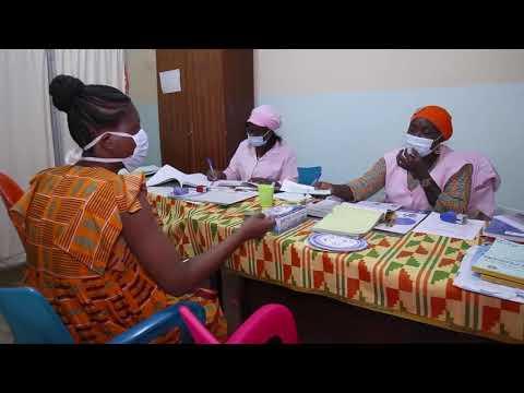 Côte d'Ivoire : L'UNFPA accompagne le ministère de la Santé dans la sensibilisation pour la continuité des services de soins;