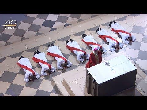 Ordinations sacerdotales à Notre-Dame de Paris 2018