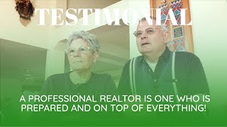 A professional Realtor is one who is prepared and on top of everything!