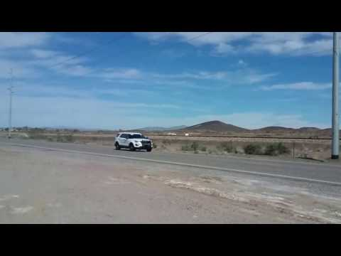 Случайный свидетель снял транспортировку засекреченной ракеты в США
