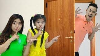 Peek a Boo Song  Suri Pretend play w Fun Nursery Rhymes Sing Along Songs Family Fun
