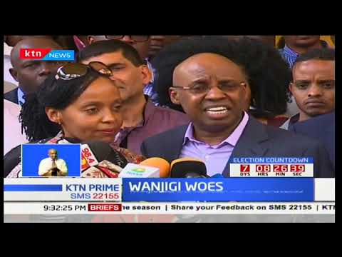 Businessman Jimmy Wanjigi resurfaces 72 hours after siege by police