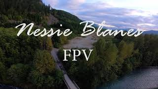 My First time FPV drone video