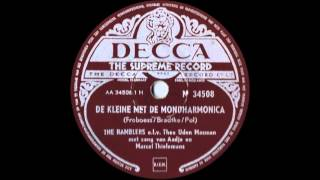 De Kleine met de Mondharmonica -- The Ramblers o.l.v. Theo Uden Masman (1952)