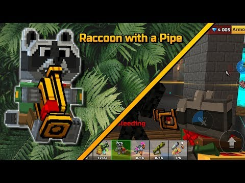 Pixel Gun 3D - Raccoon with a Pipe [Review]
