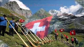 Schweizerpsalm (Schweizer Nationalhymne) für Alphorn- Trio