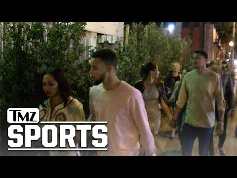Steph Curry Turns Up In Hollywood … with Drake's Dad! | TMZ Sports