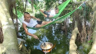 Tôm Giả Cầy - Nấu Ăn Dưới Nước Phong Cách DuBai Tại Resort Nghìn Sao Của Anh Em tam Mao