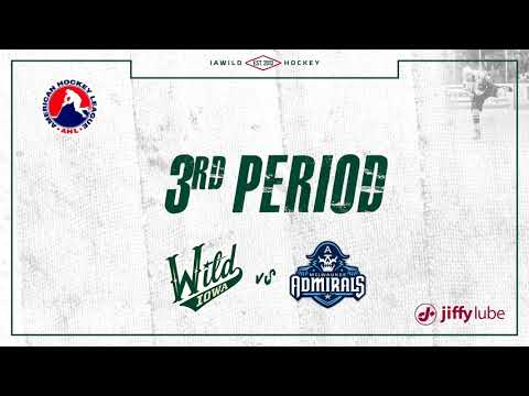 Admirals vs. Wild | Nov. 16, 2018
