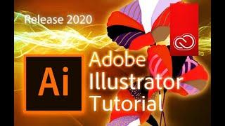 Illustrator - Tutorial For Beginners In 10 MINUTES!   [ 2020 ]