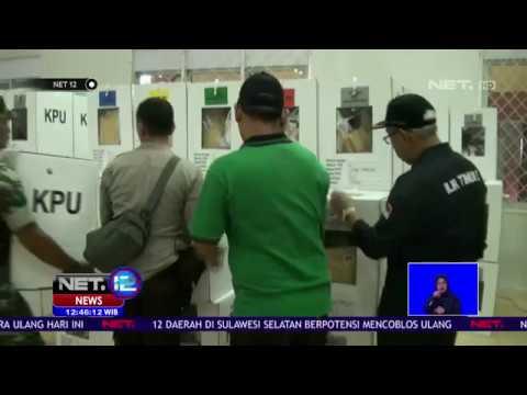 Rekapitulasi di Palembang Tertunda Karena Petugas PPS Lelah NET12
