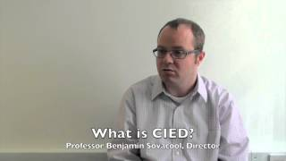 What is CIED? – Benjamin Sovacool