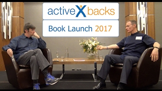Active X Backs Book Launch - Gavin Routledge And Ian Rankin In Conversation About Back Pain
