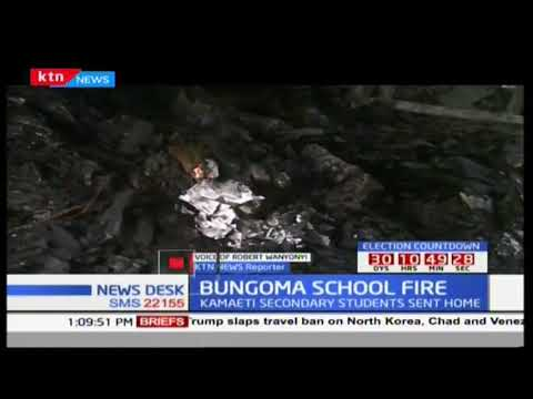 Students sent home for attempted arson in Kamaeti secondary school, Bungoma