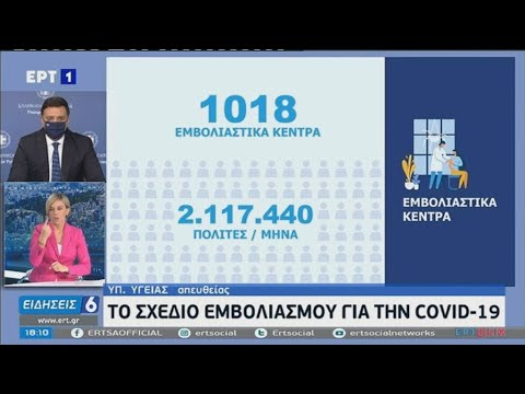 Ο υπουργός υγείας Βασίλης Κικίλιας παρουσίασε το σχέδιο των εμβολιασμών για τον κορονοϊό στην Ελλάδα