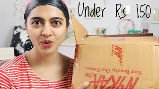 Under Rs 150 _ Affordable Makeup & Beauty Products India | #Budget Beauty 18 SuperWowStyle - Download this Video in MP3, M4A, WEBM, MP4, 3GP
