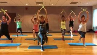 """""""THIS AIN'T A SCENE"""" Fall Out Boys - Dance Fitness Workout with Drum Sticks Valeo Club by valeoclub"""
